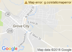 Map of Grove City College