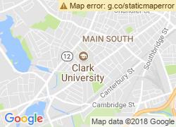 Map of Clark University