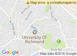 Map of University of Richmond