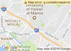 Map of University of Hawaii at Manoa