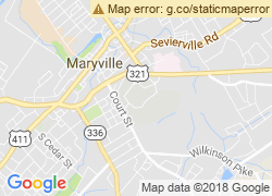 Map of Maryville College