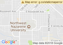 Map of Northwest Nazarene University