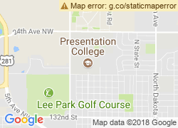 Map of Presentation College