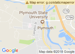 Map of Plymouth State University
