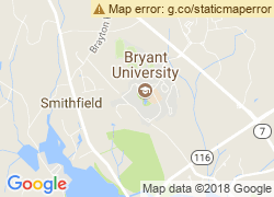 Map of Bryant University