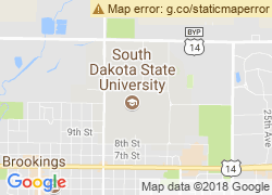 Map of South Dakota State University