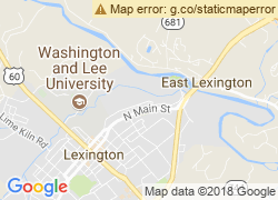 Map of Virginia Military Institute