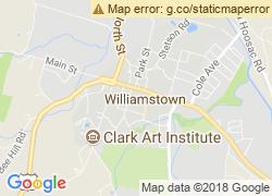 Map of Williams College