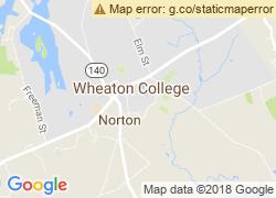 Map of Wheaton College