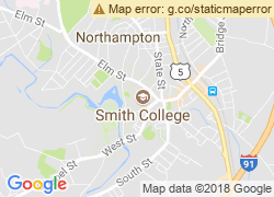 Map of Smith College