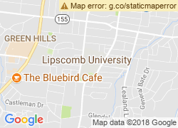 Map of Lipscomb University