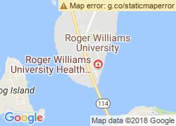 Map of Roger Williams University