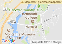 Map of Dartmouth College