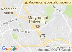 Map of Marymount University