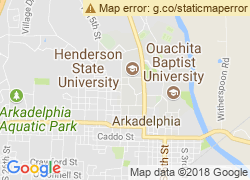 Map of Henderson State University