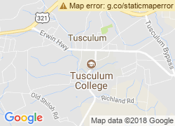Map of Tusculum College