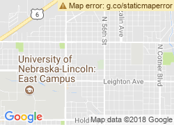 Map of Nebraska Wesleyan University