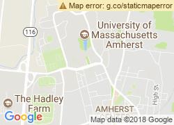 Map of University of Massachusetts Amherst