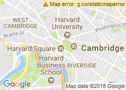Map of Harvard University